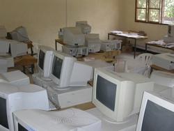 Lagerraum der Dr. Didas School